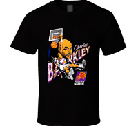 Charles Barkley Retro Basketball Caricature T Shirt Unisex  S-4XL LLL37