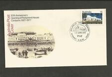 AUSTRALIA -1977 50TH ANNIV. OPENING OF PARLIAMENT HOUSE .- FIRST DAY COVER