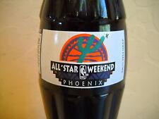 Coca-Cola Coke 1995 Basketball All-Star Weekend Phoenix Commemorative 8oz Bottle