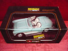 Nice Maquette de Voiture __Bburago__ Chevrolet Corvette 1957__ Métal 1:18