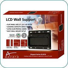"""17""""-32"""" LCD TV wall mount Bracket VESA 200x100 up to 60kg M4 screw Aavara"""