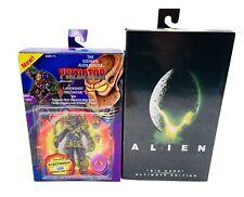 NECA Lot Of 2 Ultimate Lasershot Predator And Big Chap Alien Action Figures NEW
