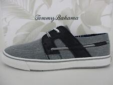 d4a8136675 TOMMY BAHAMA STRIPE BREAKER MEN S CASUAL SHOE GREY BLACK NEW IN BOX