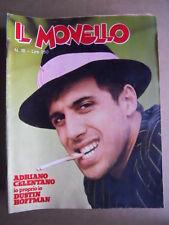 MONELLO n°15 1975 Adriano Celentano Dustin Hoffman  [G547]
