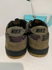 Nike SB Zoom Dunk Low Pro SKATE CAMO CAMOUFLAGE OLIVE GREEN 854866-209 sz 12