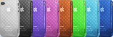für Apple iPhone 4 4s HEX3D Silicon Backcover Schutzhülle 20 Gramm Z54