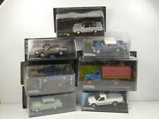 KAS2 LOT de 7 voitures OPEL 1/43 collection cassés broken models