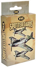 WWII Spotter Plane Playing Cards, Military Aircraft WW2 War Airplane Replica