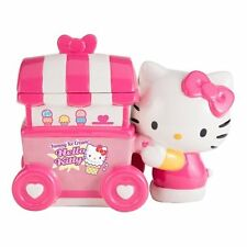 Hello Kitty Figure with Ice Cream Cart Ceramic Cookie Jar Limited Edition BOXED