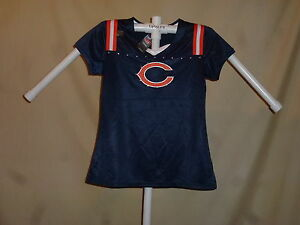 CHICAGO BEARS   DRAFT ME  style JERSEY/Shirt   Womens Large  NWT $45 retail