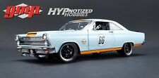 GMP 1:18 1967 FORD FAIRLANE GULF OIL DIE-CAST LIGHT BLUE GMP18858