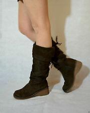 Mid Heel (1.5-3 in.) Standard (D) Unbranded Boots for Women