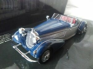 Preciosa miniatura Minichamps Pauls Model Art 1:43 Horch 855 Special Roadster..