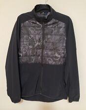 J Lindeberg Season Hybrid Black Camo Men's Golf Jacket
