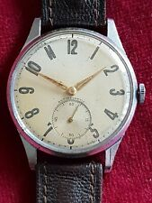 Gents Vintage Military Style 15 Jewel AS 1130 Wehrmachtswerk Concentric Numerals