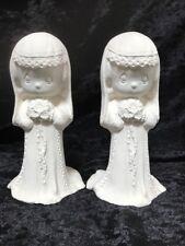 Ceramic Bisque Moments Bride & Bride