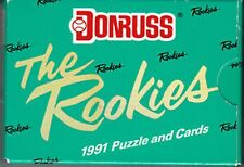 1991 DONRUSS THE ROOKIES BASEBALL FACTORY SET-STARGELL PUZZLE INCLUDED