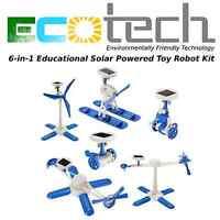 EduTECH- 6-in-1 Educational Solar Powered Toy- Build Kit