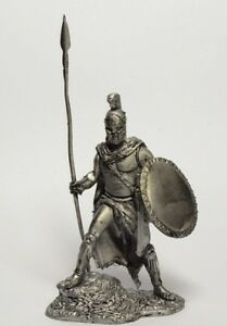 Tin soldier, figure. The Athenian General, 489 BC. 60 mm