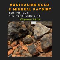150g Australian Premium Paydirt Pay Dirt - Minerals, Quartz, Gold Ore, Crystals
