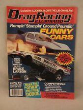 Drag Racing Illustrated Magazine  - Jan. 1989 ,  Funny Cars   (518)