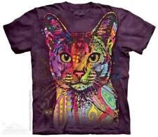 Katzen Kurzarm Damen-T-Shirts aus Baumwolle