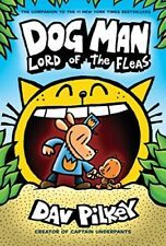 Dog Man Lord Of The Fleas Creator Captain Underpants 5 Hardcover Book Dav Pilkey