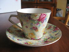 nice CUP SAUCER LORD NELSON ROSE TIME CHINTZ W/ROSES