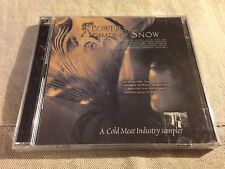 VARIOUS - FLOWERS MADE OF SNOW - Cold Meat Sampler 2CD BRAND NEW & SEALED!