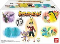 Completed Set BANDAI Pokemon Scale World Johto Region 1/20 Scale Figure