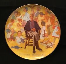 Norman Rockwell Remembered 1979 Ltd. Ed. Commemorative Plate