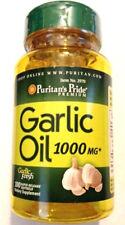 Garlic Oil 1000Mg Bulb Concentrate 100 Pills Softgels