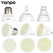 Bombilla LED FOCO MR16 GU10 E27 2835SMD Lámpara 15w 25w 35w equivalente 220v