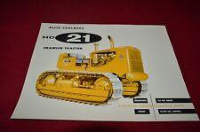 Allis Chalmers HD-21 Crawler Tractor Dealers Brochure YABE11 ver21