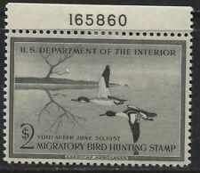 USA 1957 Migratory Bird Hunting Stamp mint o.g. (JD)