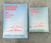 1992 Nissan 240SX 240 SX Service Repair Manual and Wiring Diagrams