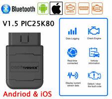 OBD2 lector de código falla de motor de coche Bluetooth ELM327 V1.5 diagnóstico escáner herramienta