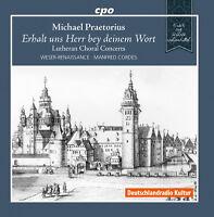 Michael Praetorius: Lutheran Choral Concerts [New CD]