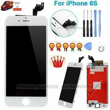 "For iPhone 6S 4.7"" LCD Touch Screen Digitizer Assembly Replacement Frame White"