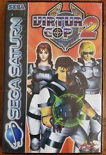 Virtua Cop 2 - Sega Saturn - Arcade/Shoot Em Up Light Gun Game - UK/PAL Version.