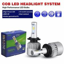 COB LED Headlights High Low beam For H7 Subaru WRX 2006-2007 8000LM White Bulbs