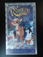 VHS VIDEO Rudolph The Red-Nosed Reindeer the movie VHS PAL VIDEO - Rated G