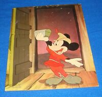 Vintage Walt Disney Productions Mickey Mouse Fantasia Cardboard 8 X 10