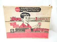 UNcatalogued American Flyer ORIGINAL SET BOX only #20597 S had 24566 steam frt