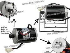 Moteur électrique 24V 150W ZY6812 16D Trottinette / Pocket Quad