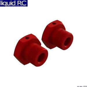 Arrma 310904 AR310904 Aluminum Wheel Hex 17mm Red 2