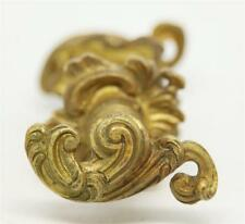 Ornate French Lever Door Knob Set with Matching Rosettes