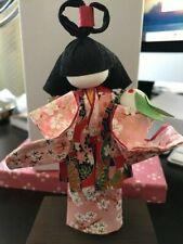 Japanese woman kimono paper doll