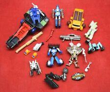 Transformers Mixed Lot Bits Parts Pieces Hasbro Takara Vintage Repair G1 4287