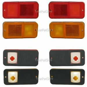 68 69 70 71 72 CHEVY GMC PU Pickup TRUCK SIDE MARKER LIGHTS W/O CHR FRONT & REAR